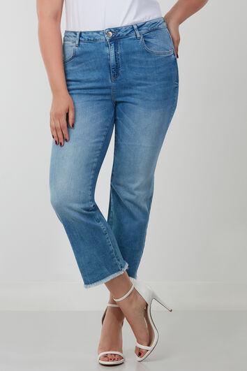 Jeans capri straight leg LILY