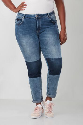 Jeans Boyfriend avec texte