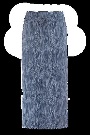 Lange rok met print