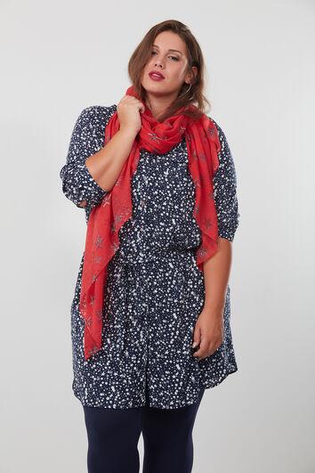Sjaal met sterrenprint