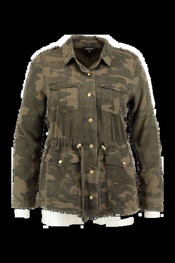Veste militaire avec un imprimé camouflage