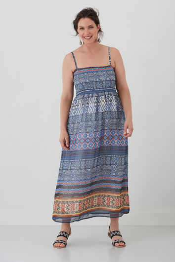Maxi jurk met print
