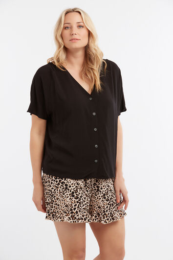 Lookbook Sale zwarte blouse