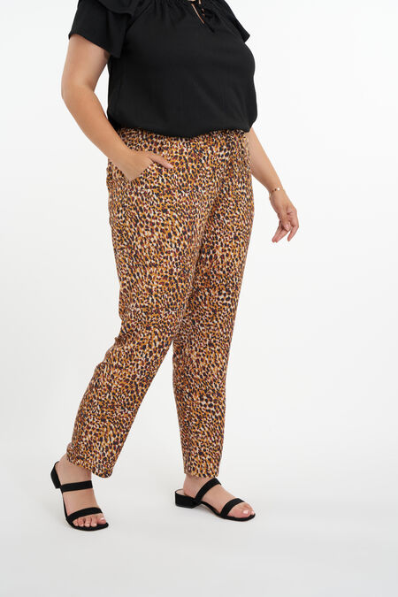 Pantalon coupe ample
