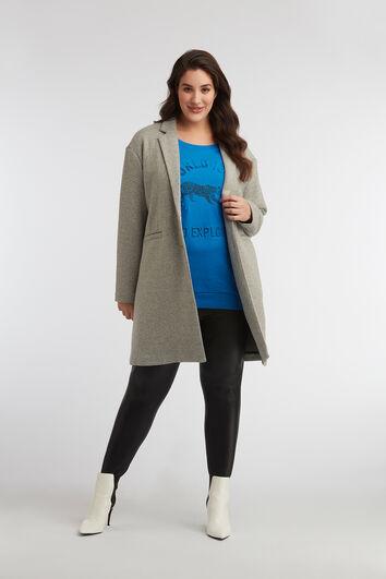 Jersey oversized jas