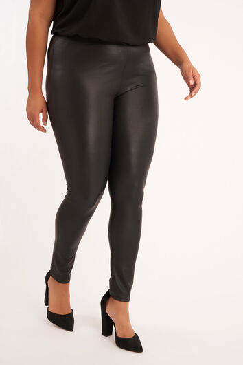 Legging en similicuir