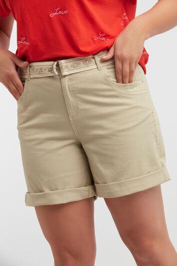 Katoenen short