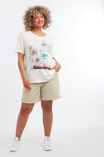 Tee-shirt avec imprimé