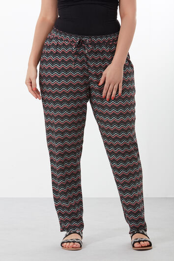 Strandbroek met all-over print