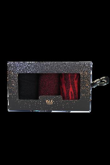 Ensemble cadeau de 3paires de chaussettes