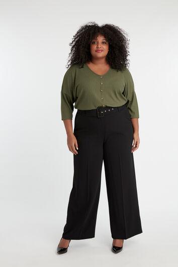 Pantalon coupe large