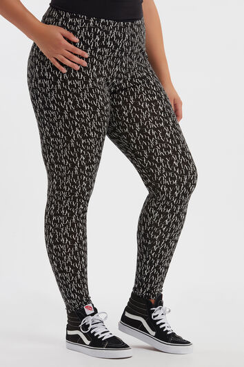 Legging met all over print