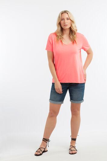 T-shirt basique à manches courtes