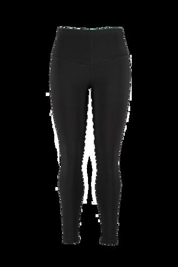 Legging met brede tailleband