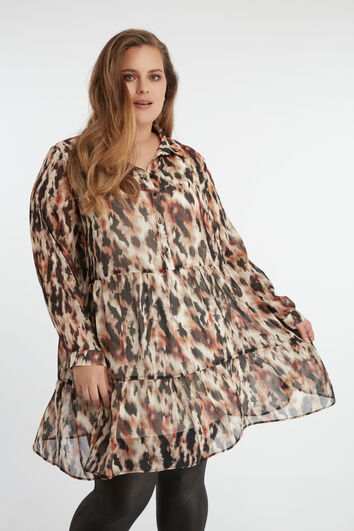 Volant blouse