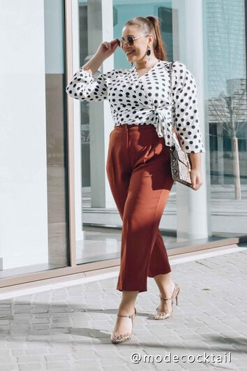 Lookbook Dots top