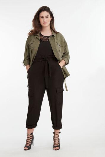 Lookbook Cargo Pants Black