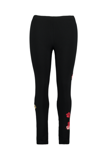 Legging met embroidery