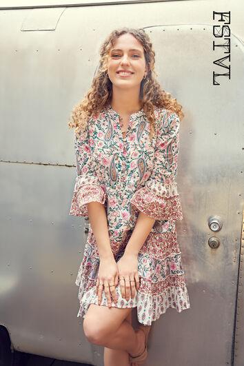 Robe à patchwork