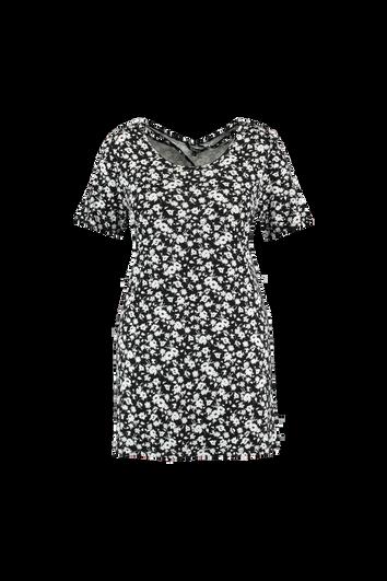 Lang T-shirt met rugdetail