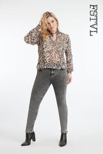 Jeans met studs