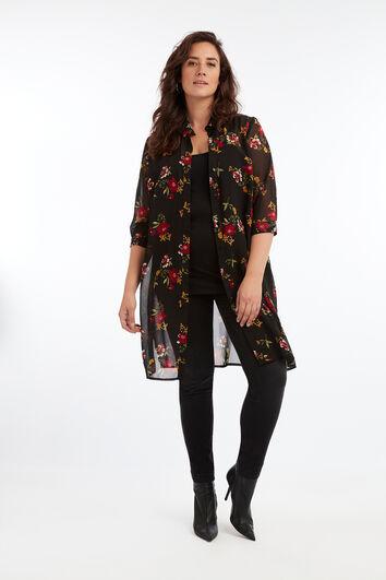 Transparante blouse