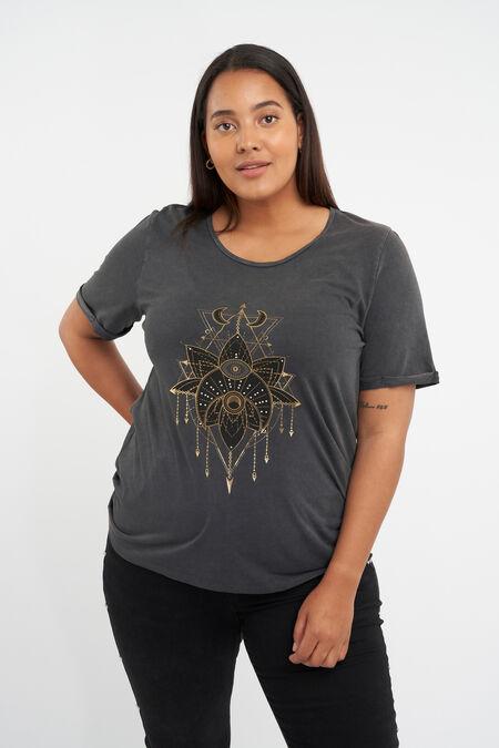 T-shirt met opdruk