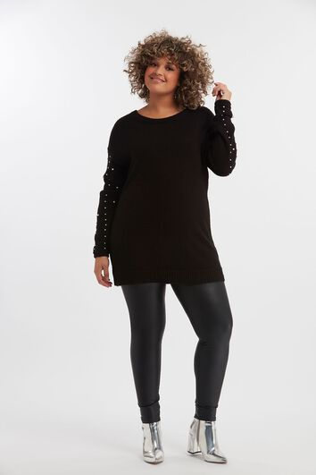 Pull-over avec noeud