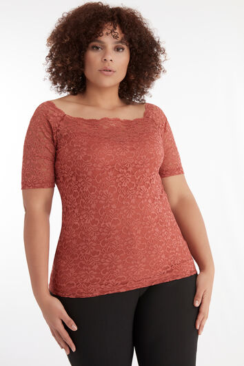 Kanten sweetheart top