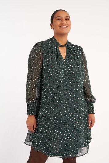 Robe trapèze courte