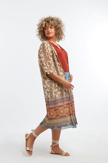 Kimono met print