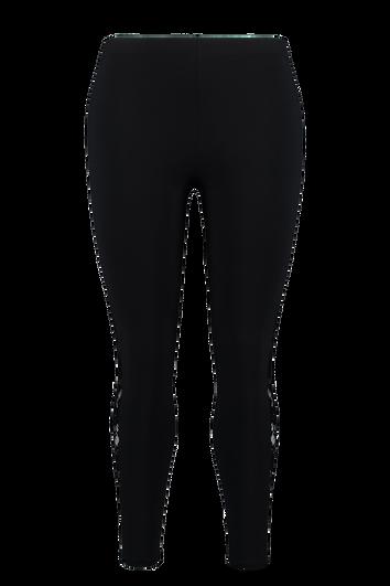 Legging avec détails en dentelle