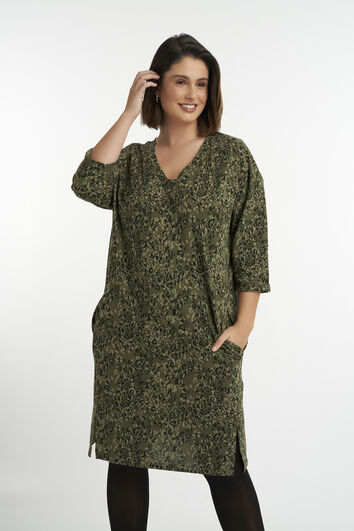 Casual jurk met print
