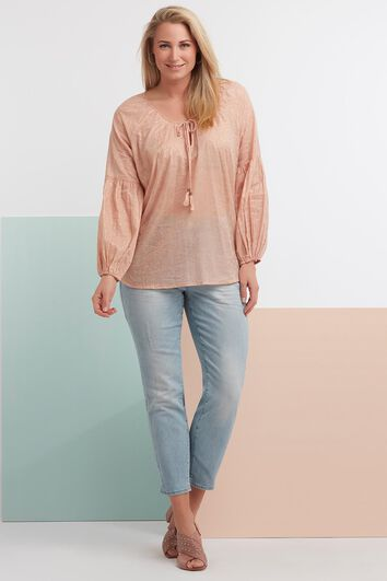 Paisley Blouse Light Pink