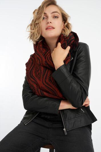 Sjaal met paisley print