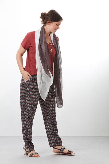 Plissé sjaal