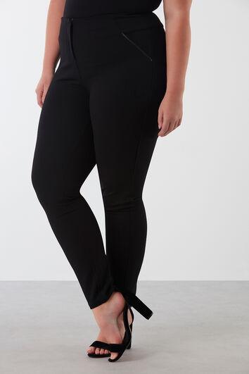 Slim leg broek