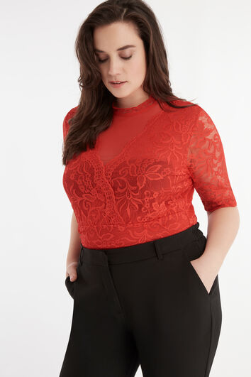 Rode kanten body