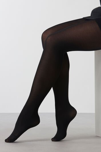 Collants en mélange de viscose