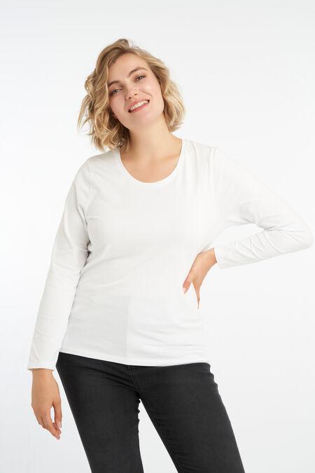 Basis shirt met lange mouw
