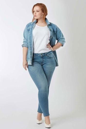 some,... jeans skinny coupe A décoloré