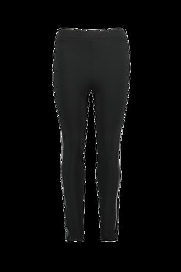 Leggings avec rayure sportive en cuir synthétique