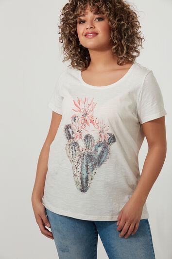 T-shirt met strass
