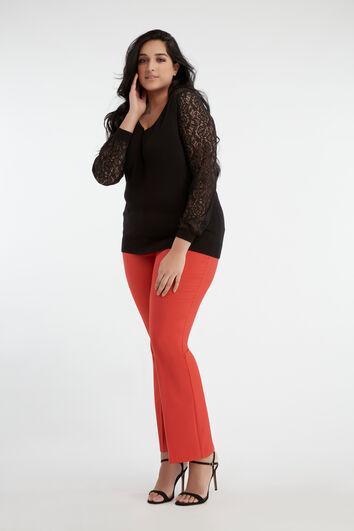 Lookbook Lace Sweater