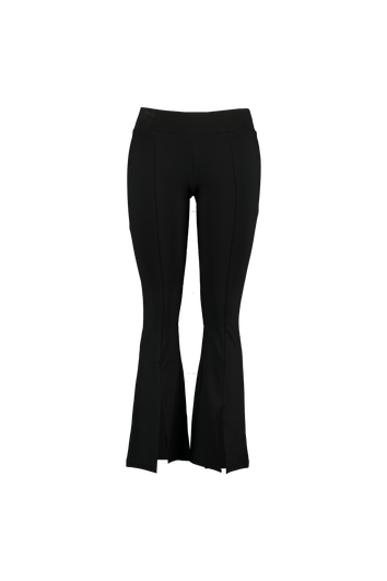Pantalon évasé avec fentes