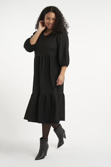 Lange wijde jurk
