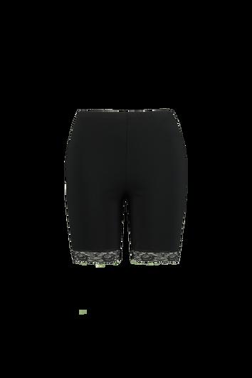 Korte legging met kant