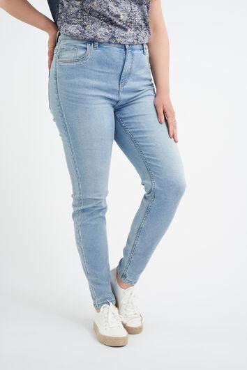 Jeans aux décors latéraux