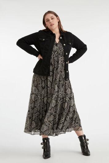 Lookbook Long Paisley Dress