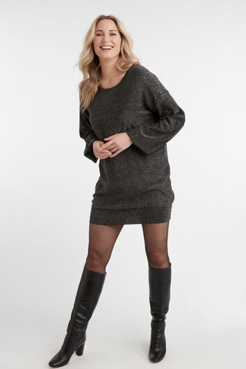 Pull-over long en Lurex